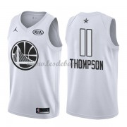 Maillot NBA Pas Cher Golden State Warriors Klay Thompson 11# White 2018 All Star Game Swingman..